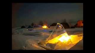 Активный отдых на Байкале зимой 2018 , тур по льду озера