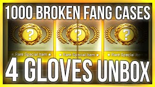 4 GLOVES 1 VIDEO (1000 CASE OPENING)