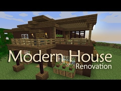 Minecraft Modern House Design with Interior - Youube - ^