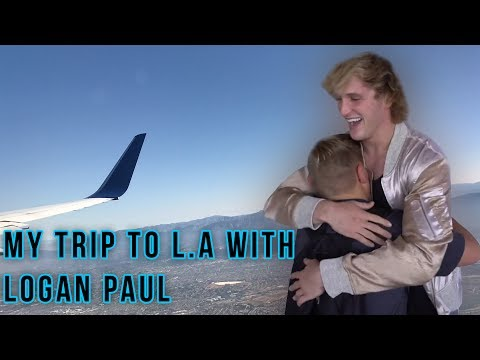 MY TRIP TO L.A WITH LOGAN PAUL!