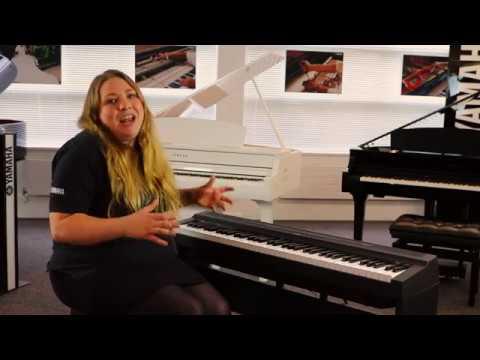 introducing the yamaha p 121 digital piano yamaha music london youtube. Black Bedroom Furniture Sets. Home Design Ideas