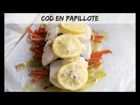 Cod En Papillote (parchment Paper)