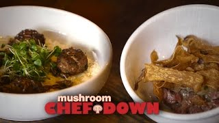 Porcini + Beef Cook-off At The Federal -  Mushroom Chef Down!