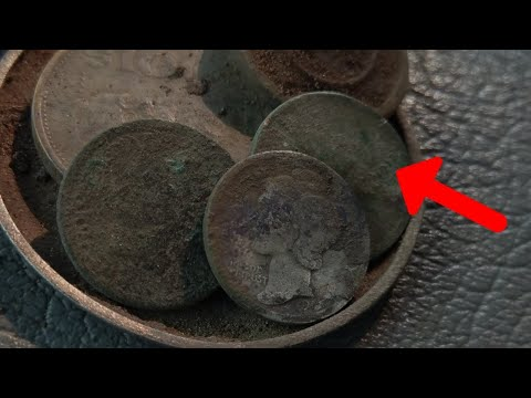 Real Texas Treasure Found Metal Detecting Key Date Coin!!