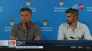 Chapadmalal: Conferencia de prensa del presidente Macri