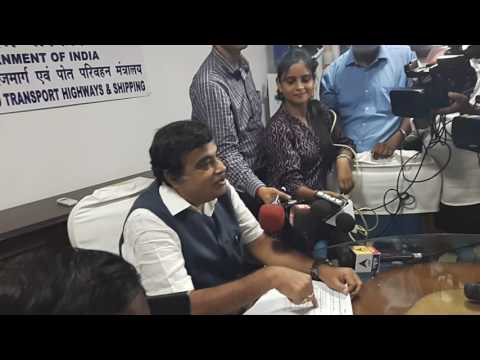 Shri. Nitin Gadkari on NH in Maharashtra state:see the Press conference in Delhi