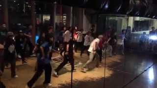 xiaomei hip hop class adv beginner   zhigee toss it up