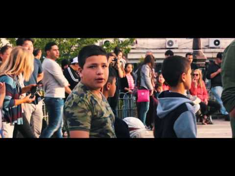 Dance flash mob in Paris Square, Amman