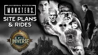 Plans for Universal Classic Monsters Land at Epic Universe Revealed - Universal Orlando's New Park