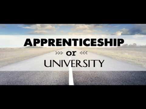 Interview Techniques- Radio Interview - Uni vs Apprenticeships