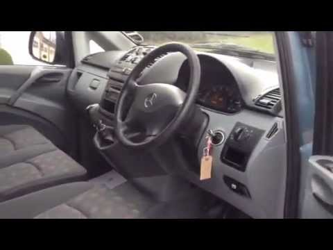 MERCEDES VITO 111 CDI LWB DUALINER FOR SALE 2004  YouTube