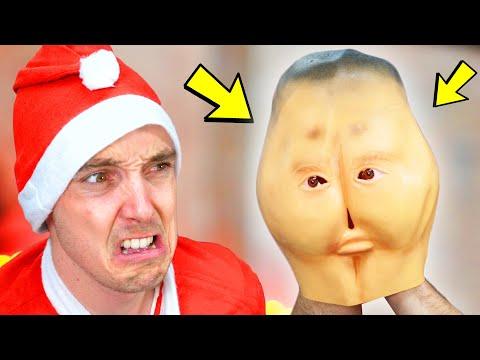 Unboxing WEIRD CHRISTMAS Presents