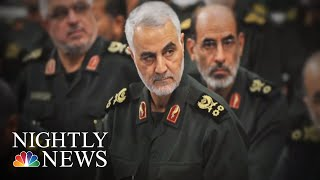 U.S. Drone Strike Kills Top Iranian General Qassem Soleimani | NBC Nightly News