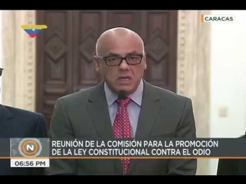Jorge Rodríguez: Conatel evitará abuso de redes sociales para el odio e impunidad