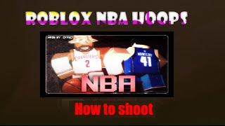 [ROBLOX] How to shoot on NBA HOOPZ /PHENOM