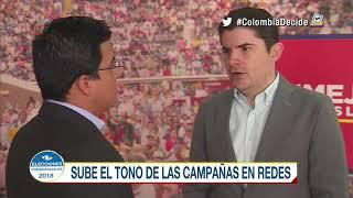 Petro y Uribe: sube el tono de las campañas en redes sociales