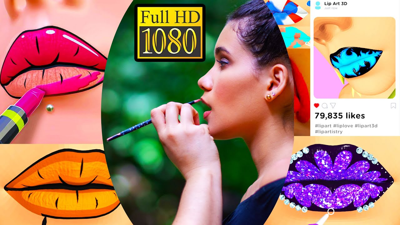 Lip Art 3d Lipstick Game Review Android Gameplay 1080p Full Hd Wisdom Gamers Youtube