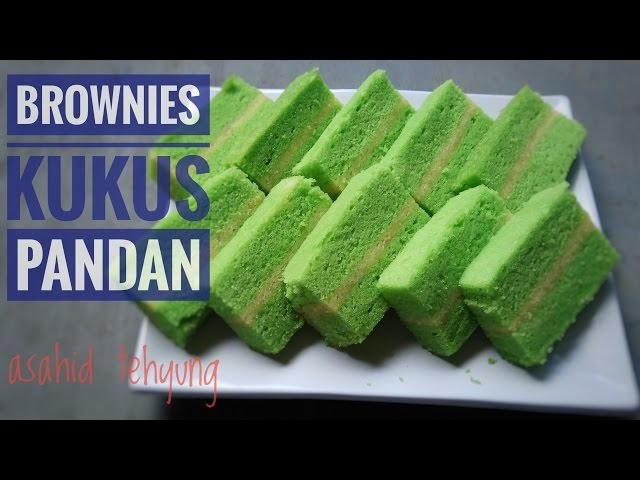 Resep Brownies Kukus Pandan