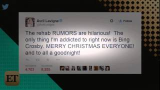 Avril Lavigne Rebuts 'Hilarious' Rehab Rumors   StarCelebrityTV