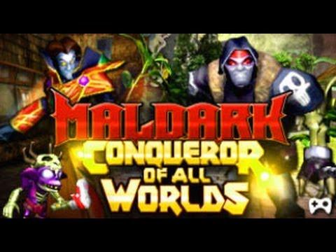 maldark conqueror of all worlds level up