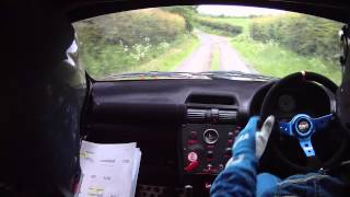 Donegal rally 2012 stage 1 crash