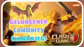 Gelungener ComUnity ClanKrieg [BoomUntiy]| Clash of Clans Deutsch 018| Boomer