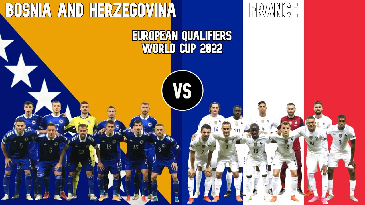 Bosnia and Herzegovina vs France: Prediction, Lineups, Team News, Betting Tips & Match Previews
