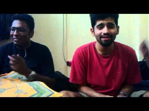 Drunk Karaoke. Pani and Deepak at their best