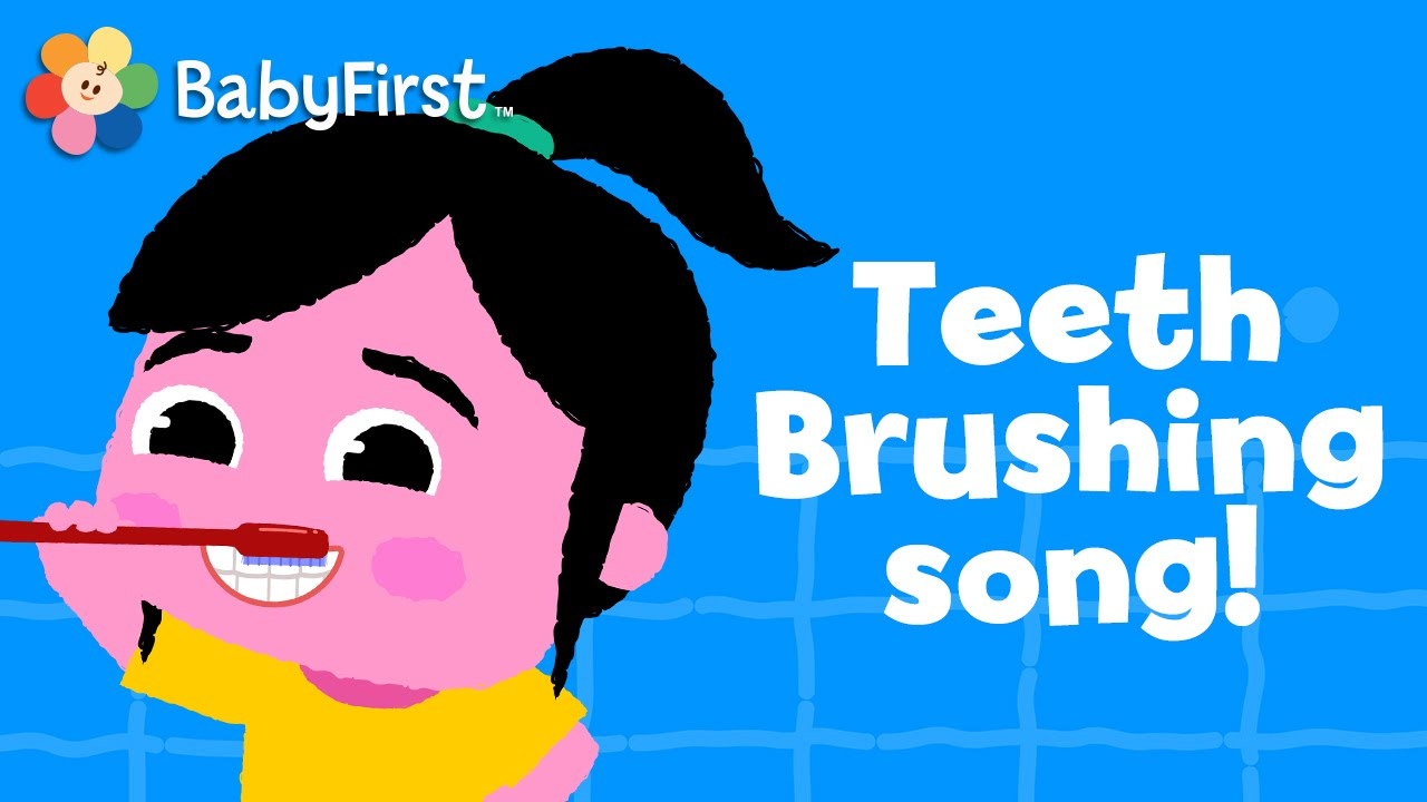 Brushing new toothbrush claims to clean teeth in 6 seconds abc news - Brushing Teeth Song Music Videos For Kids How To Brush Your Teeth Nursery Rhymes By Babyfirst Youtube