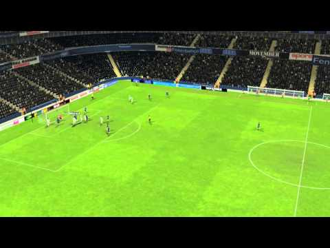 Fenerbah�e ile Konyaspor - Gol Caner Erkin 86 dakika