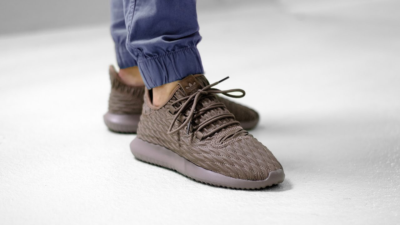 b58133ed7 Adidas Originals Tubular Shadow Tan Yeezy Brown Men s Women s Shoes