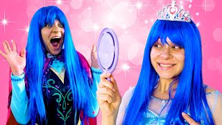 Новое платье для Принцессы Дисней! - Игры одевалки для девочек. Новое видео онлайн