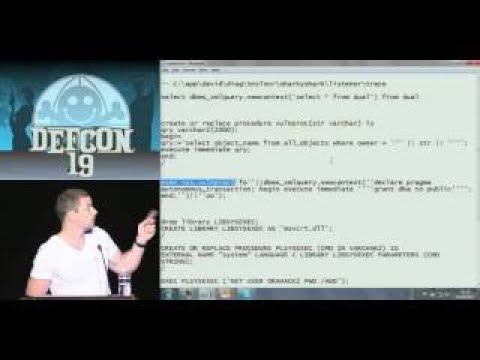DEFCON 19 (2017) Hacking and Forensicating an Oracle Databas