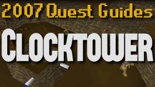 Runescape 2007 Quest Guides: Clocktower