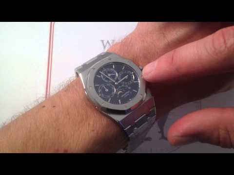 Audemars Piguet Royal Oak Perpetual Calendar 25820ST Luxury Watch Review