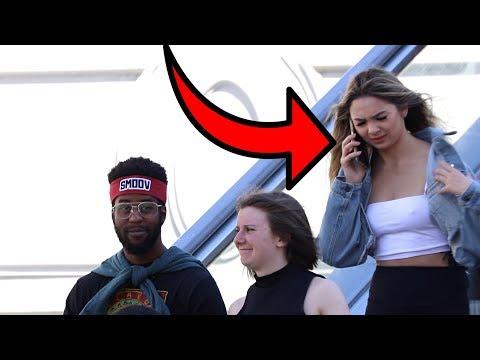 AWKWARD PHONE CALLS ON THE ESCALATOR 4!!