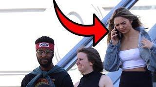 AWKWARD PHONE CALLS ON THE ESCALATOR 4!! Video