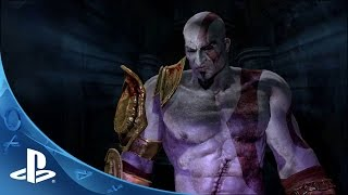 God of War III Remastered - Kratos vs Hades Boss Battle | PS4