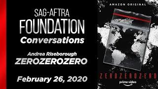 Conversations with Andrea Riseborough of ZEROZEROZERO