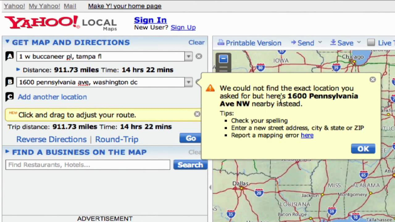 Basic Internet & E-mail Skills : How to Find Driving ...