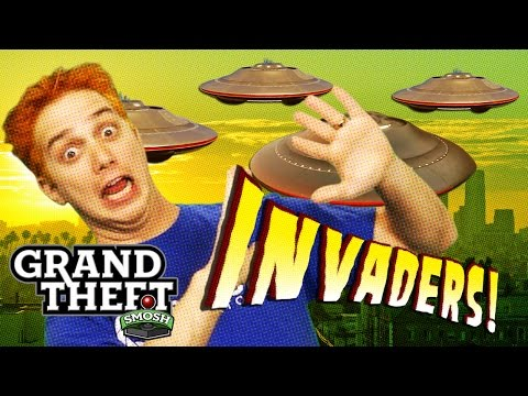 UFO BIKER GANG (Grand Theft Smosh)