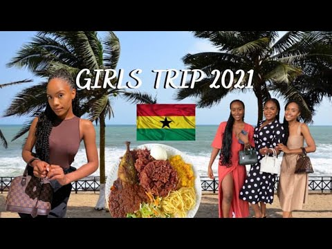 Accra 2021: trying food, games night, beach day, places to go and more! #GirlsTrip2