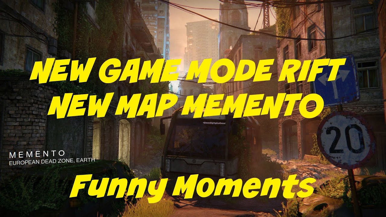 Destiny   NEW GAME MODE RIFT/ NEW MAP MEMENTO (Using Hawkmoon