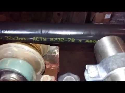 Маркировка труб Дн32х3мм ГОСТ 8732-78 с антикорозионным покрытием согласно ДСТУ 4219-2003