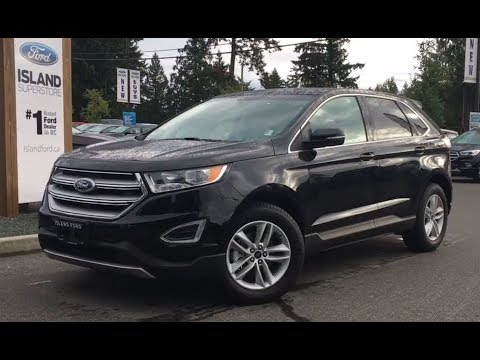 2017 Ford Edge SEL Canadian Touring EcoBoost Review|Island Ford