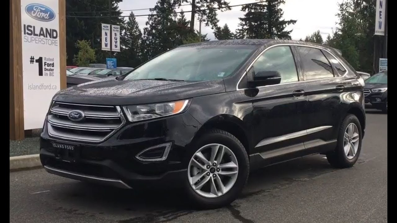 Ford Edge Sel Canadian Touring Ecoboost Reviewisland Ford