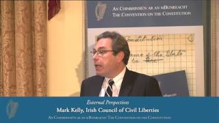 External Perspectives - Convention on the Constitution (02/11/13)