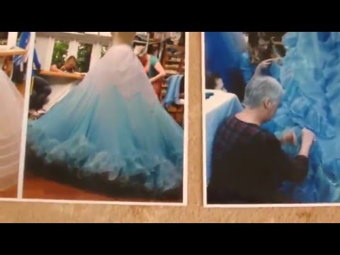 Cinderella live action Petticoat tutorial part 1 - YouTube