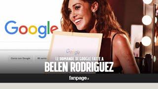 Belén, Iannone, incinta, Instagram, da piccola: la Rodriguez risponde alle domande di Google