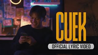 Rizky Febian - Cuek #GarisCinta [Official Lyric Video]